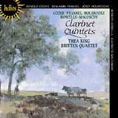 Album artwork for ENGLISH CLARINET QUINTETS