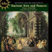 Album artwork for Paul O'Dette: Ancient Airs and Dances