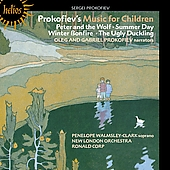 Album artwork for PROKOFIEV: PETER AND THE WOLF