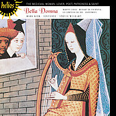 Album artwork for THE MEDIEVAL WOMAN: BELLA DONNA