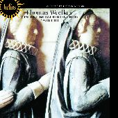 Album artwork for Weelkes: Anthems (Winchester Cathedral Choir)