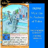 Album artwork for DUFAY: MUSIC OF ST ANTHONY OF PADUA