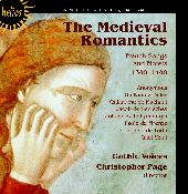 Album artwork for Gothic Voices: The Medieval Romantics. French Song