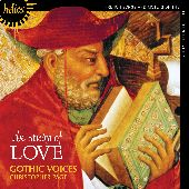 Album artwork for Gothic Voices: The Study of Love