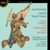 Album artwork for Monteverdi: Sacred Vocal Music ( Kirkby)