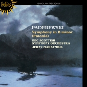Album artwork for Paderewski: Symphony in B minor
