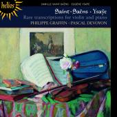 Album artwork for Saint-Saens, Ysaye: Violin Transcriptions