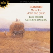 Album artwork for Stanford: Music for violin and piano. Barritt/Edwa