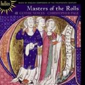 Album artwork for Gothic Voices: Masters of the Rolls
