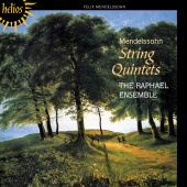 Album artwork for MENDELSSOHN. String Quintets. The Raphael Ensemble