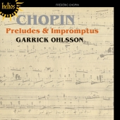 Album artwork for Chopin: Preludes & Impromptus / Ohlsson