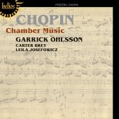 Album artwork for Chopin: Chamber Music / Ohlsson, Josefowicz