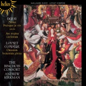 Album artwork for Dufay: Missa Puisque je vis / Kirkman