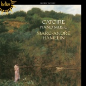 Album artwork for CATOIRE. Piano Music. Hamelin