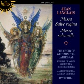 Album artwork for Langlais: Missa Salve regina / Hill