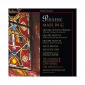 Album artwork for Poulenc: Mass & Motets. Westminster Choir