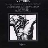 Album artwork for Victoria: RESPONSORIES FOR TENEBRAE / WESTMINSTER