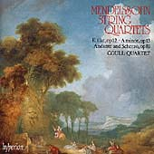 Album artwork for MENDELSSOHN: STRING QUARTETS 1 & 2