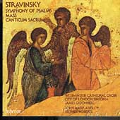Album artwork for STRAVINSKY - MASS AND SYMPHONY OF PSALMS