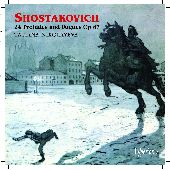 Album artwork for Shostakovich: 24 Preludes and Fugues / Nikolayeva
