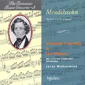 Album artwork for The Romantic Piano Concerto Vol 3: Mendelssohn