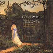Album artwork for HUGO WOLF: SONGS TO THE POETRY OF GOETHE AND MORIK