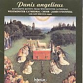 Album artwork for PANIS ANGELICUS WESTMINSTER CATHEDRAL CHOIR