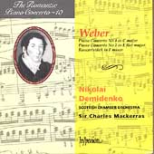 Album artwork for Romantic Piano Concerto Vol. 10: Weber