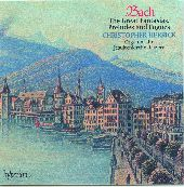 Album artwork for BACH: THE GREAT FANTASIAS, PRELUDES AND FUGUES