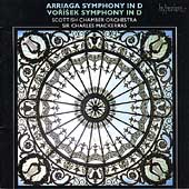 Album artwork for ARRIAGA/VORISEK: SYMPHONIES