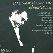 Album artwork for Liszt: Marc-Andre Hamelin plays Liszt