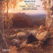 Album artwork for Warlock: Curlew, Capriol, Serenade / Nash Ensemble