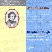 Album artwork for Romantic Piano Concerto Vol. 17: Mendelssohn