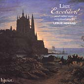 Album artwork for Liszt: Piano Music Vol. 36 - Excelsior! (Howard)
