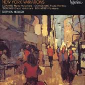 Album artwork for NEW YORK VARIATIONS  (Hough)
