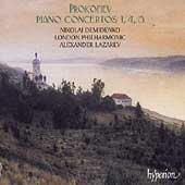 Album artwork for PROKOFIEV: PIANO CONCERTOS NOS. 1, 4, 5