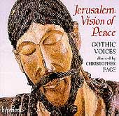 Album artwork for Jerusalem: Vision of Peace