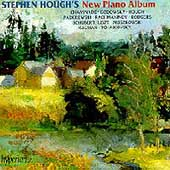 Album artwork for Stephen Hough's New Piano Album