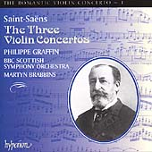 Album artwork for Romantic Violin Concerto Vol. 1: Saint-Saens
