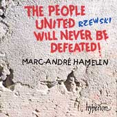 Album artwork for Rzewski: The People United Will Never Be Defeated!