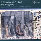 Album artwork for MARRIAGE OF ENGLAND AND BURGUNDY, A