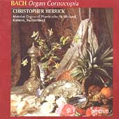 Album artwork for BACH: ORGAN CORNUCOPIA