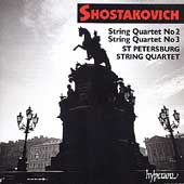 Album artwork for SHOSTAKOVICH: STRING QUARTETS NOS.2 & 3