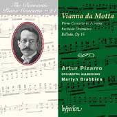 Album artwork for Romantic Piano Concerto Vol. 24: Vianna da Motta
