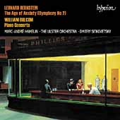 Album artwork for Bernstein: Age of Anxiety / Bolcolm: Piano Concert