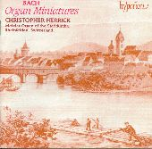 Album artwork for BACH: ORGAN MINIATURES