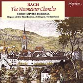 Album artwork for BACH: THE NEUMEISTER CHORALES