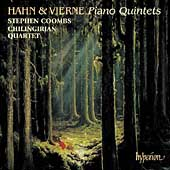 Album artwork for Hahn/Vierne: Piano Quintets (Coombs)