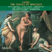Album artwork for HANDEL - CHOICE OF HERCULES