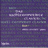 Album artwork for Bach: The Well-Tempered Clavier Book 1 / Hewitt
